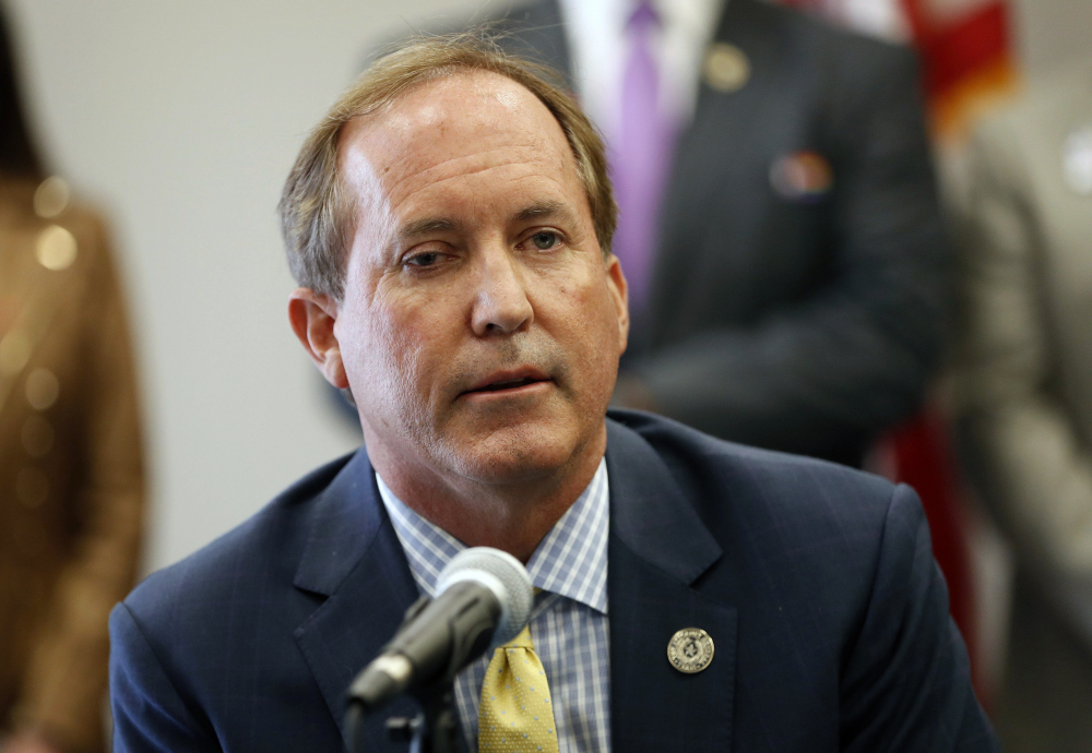 Texas Attorney General Ken Paxton says the Biden administration didn't provide a justification for its moves on immigration.