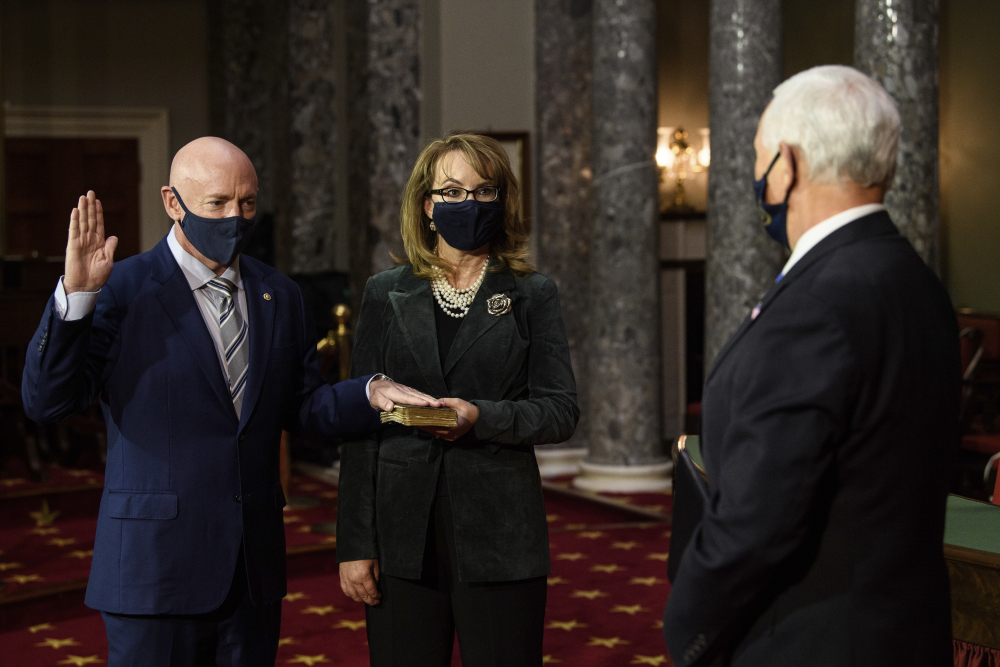 Arizonas Kelly is sworn into Senate, narrowing GOP...
