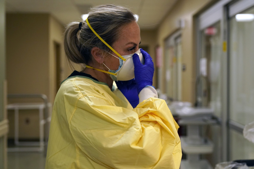Swamped hospitals scramble for pandemic help