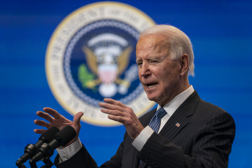 President Biden is set to sign a series of orders and memorandums on Tuesday as the new administration says it will make combatting racial injustice a central focus of his presidency.