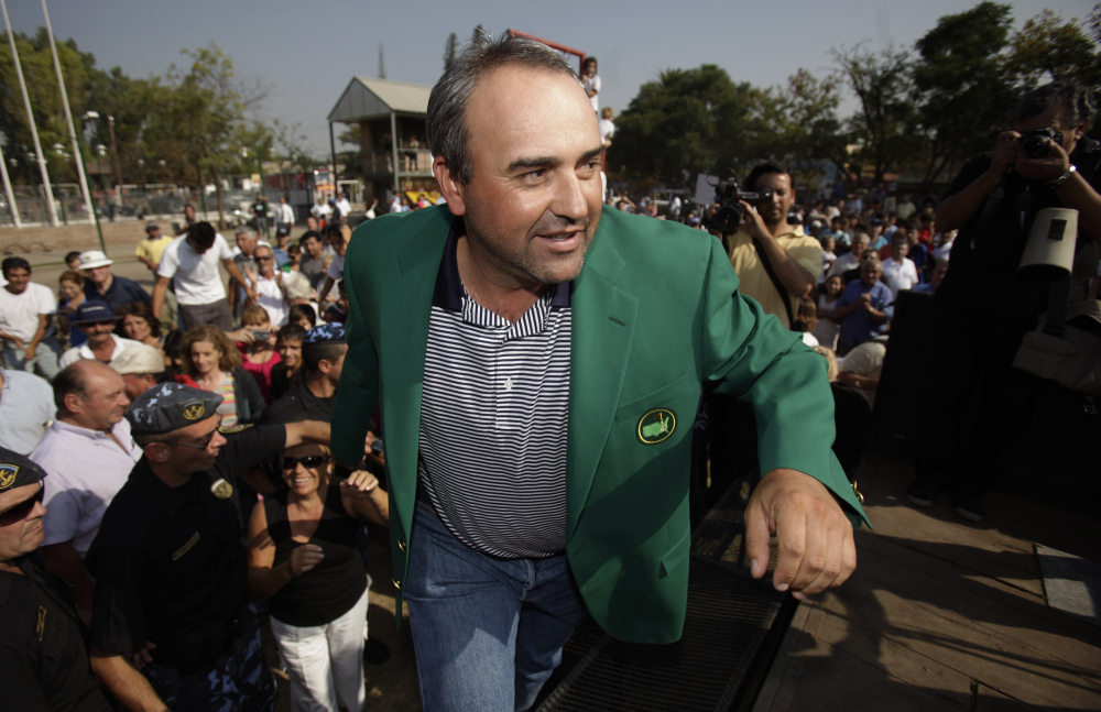 Argentine major winner golfer Angel Cabrera arrested in Rio