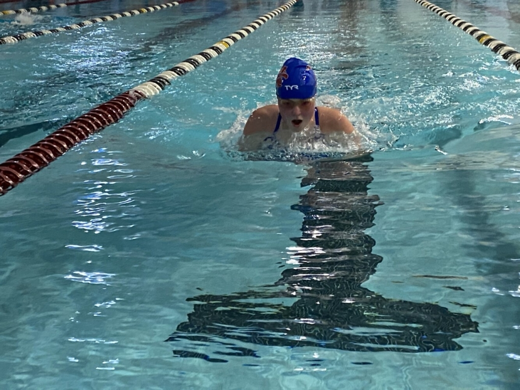 The Mt. Ararat Eagles held their first virtual swim meet of the season on Thursday at the Wiscasset Community Center in Wiscasset.