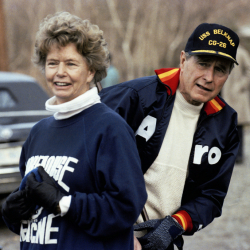 Nancy Bush Ellis, George H.W. Bush