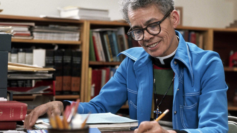 "A scene from ""My Name is Pauli Murray."" Murray, who was Black and gender fluid, was a pivotal figure in shaping litigation and thinking around gender and racial equality, years before the civil rights or women's movements."