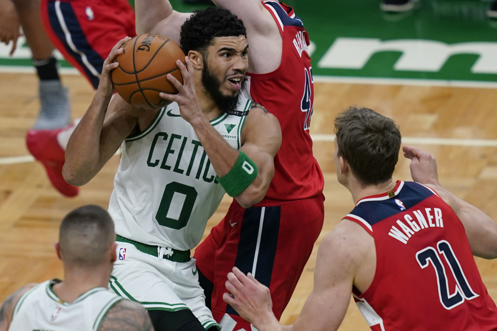 Virus-hit Celtics down to National Basketball Association minimum eight to face Miami