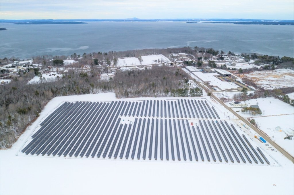 This community solar project near Route 1 in Belfast is already built and scheduled to be in service soon, but Central Maine Power is unexpectedly indicating that the developer, SunRaise Investments of Portsmouth, New Hampshire, will first need to spend an unspecified amount of money to fix voltage problems at the local substation.