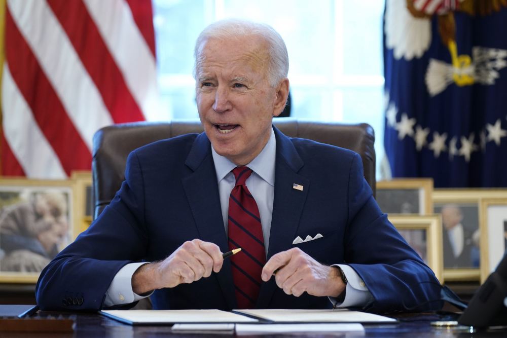 """President Biden has included a provision in the massive pandemic relief bill that would more than double the minimum wage from the current $7.25 to $15 per hour, but recently told CBS News """"I don't think it's going to survive."""""""
