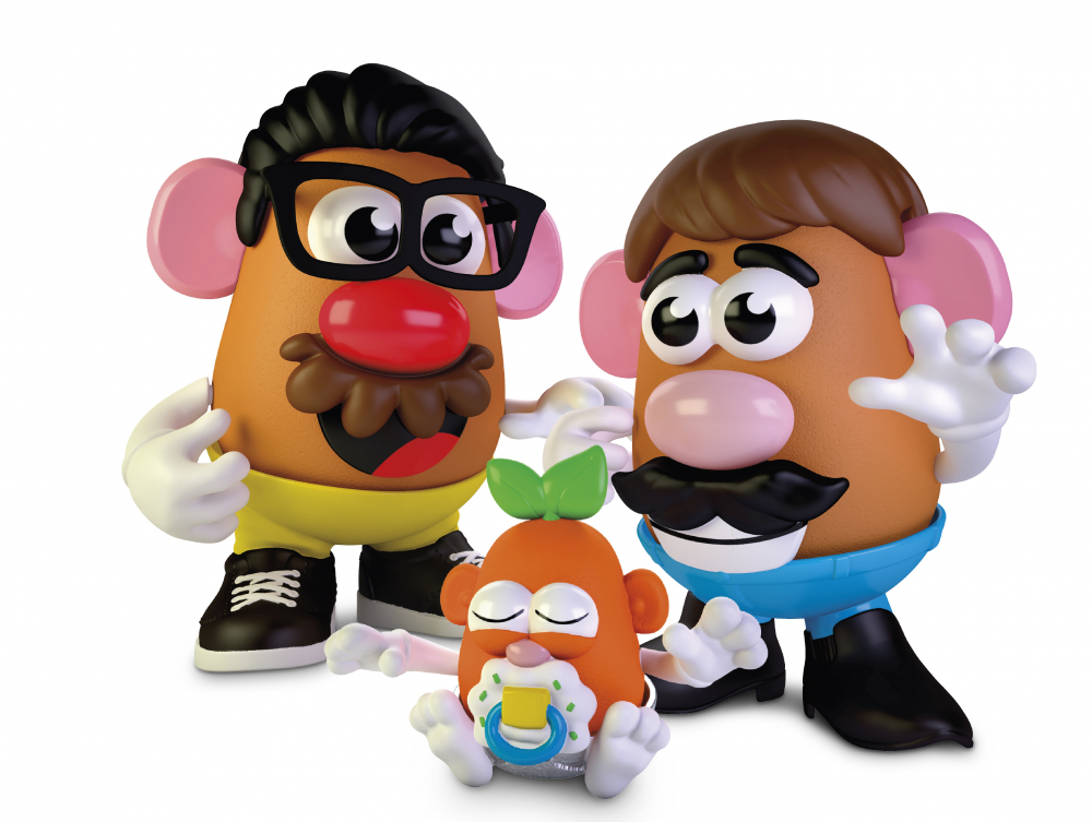 Hasbro, the company that makes the potato-shaped plastic toy, is giving the spud a gender neutral new name: Potato Head. The change will appear on boxes this year.