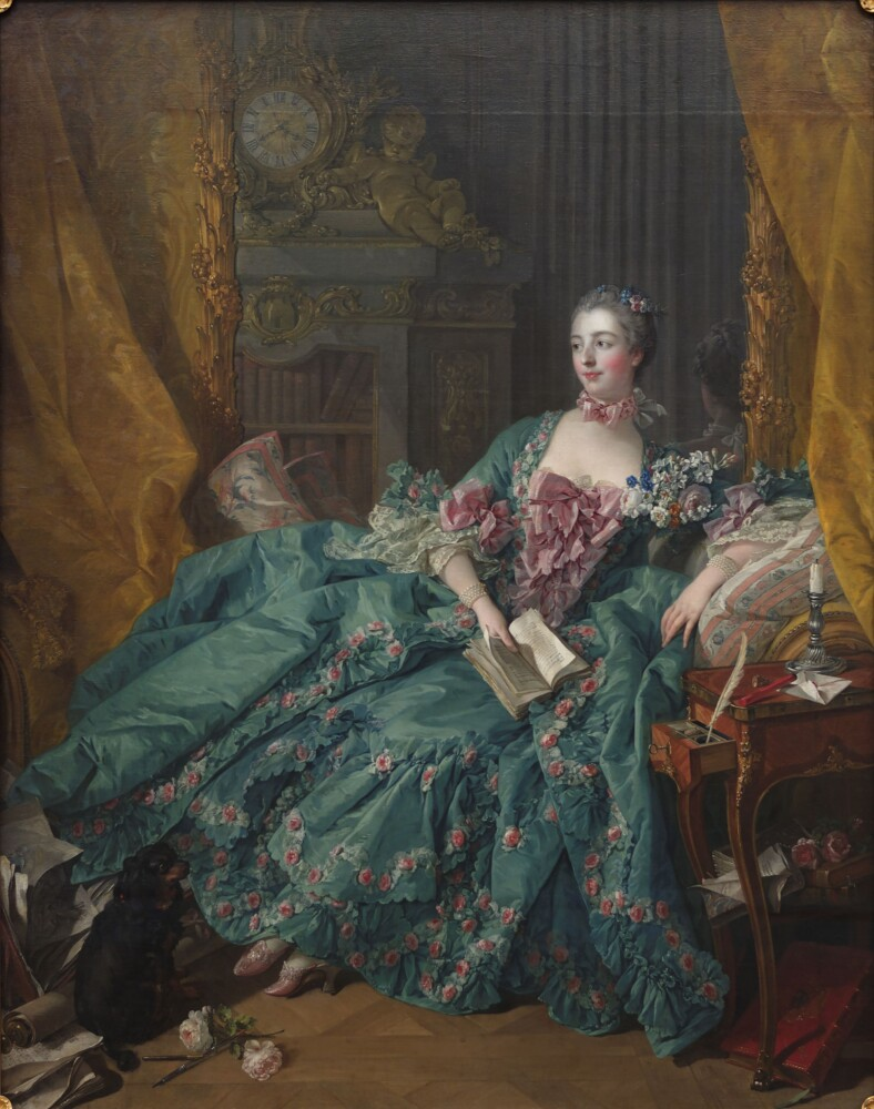 "Among the 256 color illustrations in ""Rosa"" by Portlander resident Peter E. Kukielski (with Charles Phillips) is Madame de Pompadour by Francois Boucher painted in 1756."