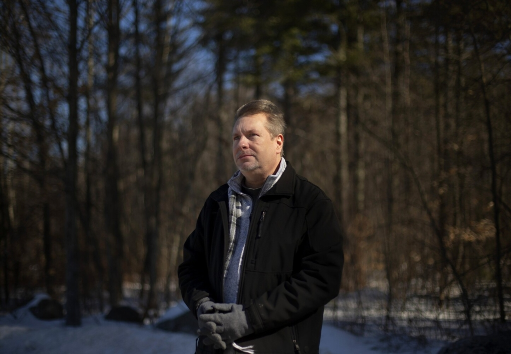 Tim Gresh of Windham took dozens of prescription opioids daily for his chronic pain for almost a decade, until a doctor suggested he try cannabis. Gresh says he is now almost entirely off his other medications and feels like he can live a full life for the first time in over 10 years.