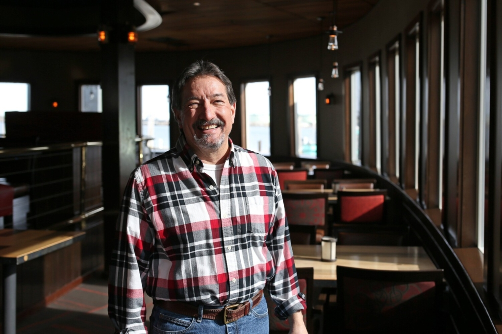 """Steve DiMillo, manager of DiMillo's on the Water, is """"almost giddy"""" about the capacity increase Gov. Janet Mills announced Friday. Mills will be rolling back restrictions on indoor capacity and out-of-state travel before the spring and summer tourism season. DiMillo is chairman of the board of directors for HospitalityMaine."""
