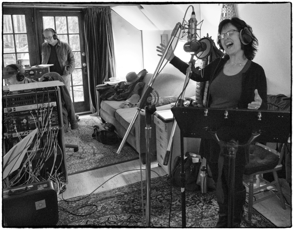 Susan Smith in the studio.