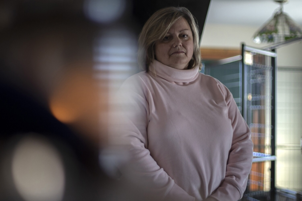 Amy Burns is the ex-wife of former Maine State Police trooper Justin Cooley, who faces three criminal charges related to alleged domestic abuse in 2019. When she reported the abuse to the state police, she claims that the commanders either did not want to hear it, or they did not believe her, and they failed to intervene and stop the domestic violence.