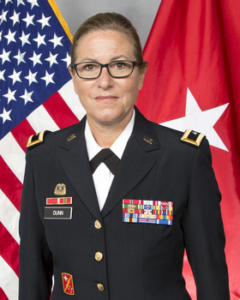 Maine Brig. Gen. Diane L. Dunn of Newburgh selected for six month national assignment as a deputy commanding general for U.S. Army North at Fort Sam Houston, Texas.