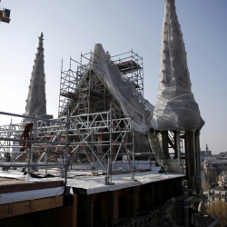 Second anniversary of the Notre-Dame de Paris Cathedral blaze