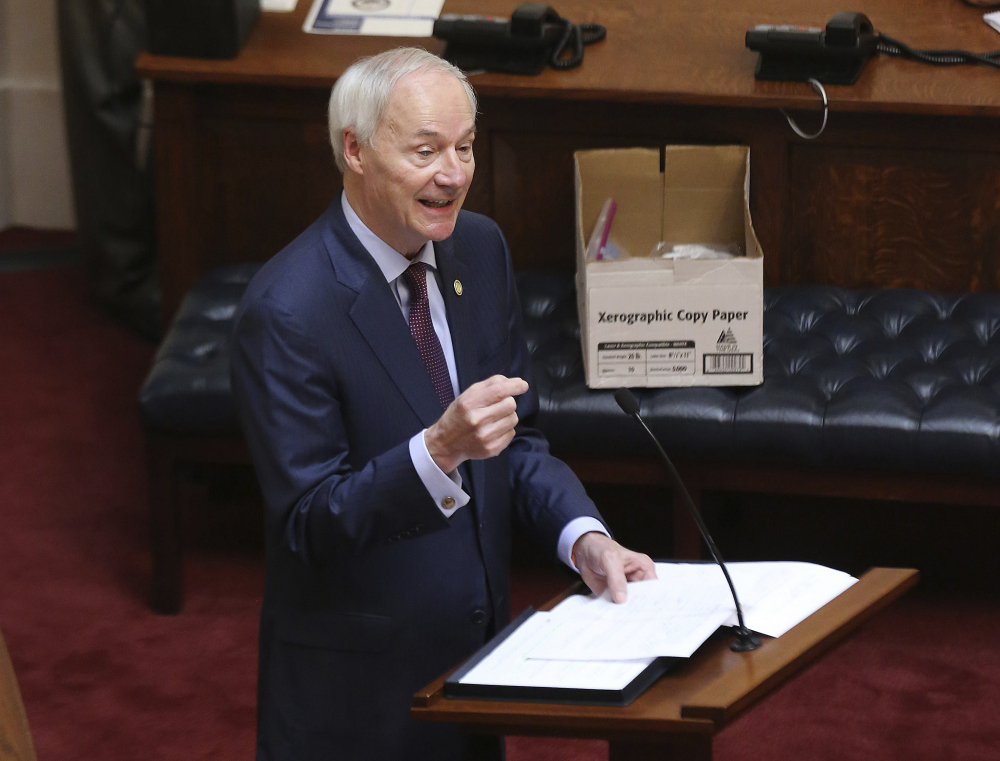 Arkansas Gov. Asa Hutchinson said he would have signed the bill if it had just focused on gender confirming surgery, but that overall the it was too broad.