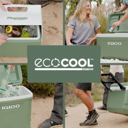 Igloo Releases the World's First Coolers Made With Recycled Plastic on Earth Day