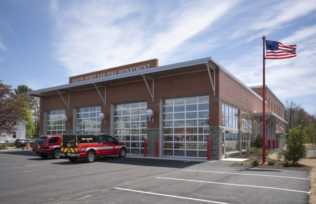The new South Portland Fire Station at Cash Corner is completed and will have a ribbon cutting ceremony on Tuesday.