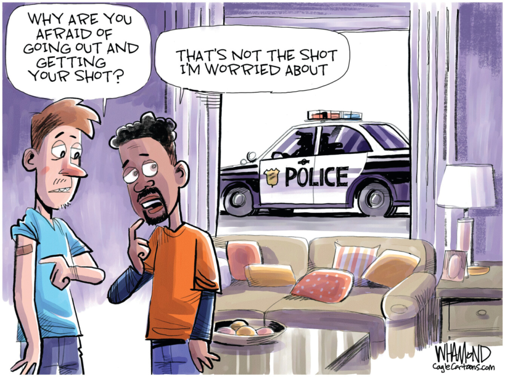 Letter: Law enforcement officer objects to editorial cartoon