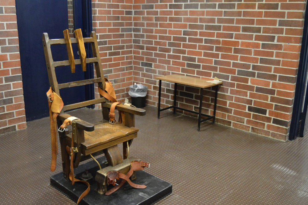 This is South Carolina's electric chair. The South Carolina House voted Wednesday to add a firing squad to the state's execution methods.