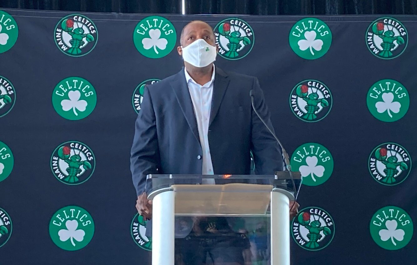 NBA G-Leagues The Boston Celtics RIP Maine Red Claws new look on Monday Portland Expo
