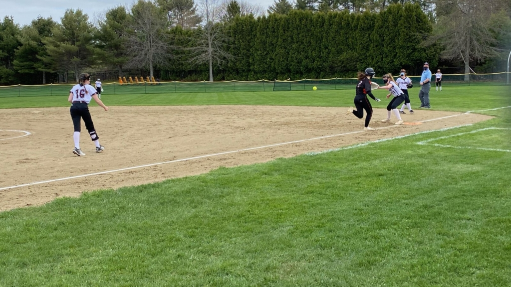 Softball: Brunswick gets big boost from young talent in win over Freeport