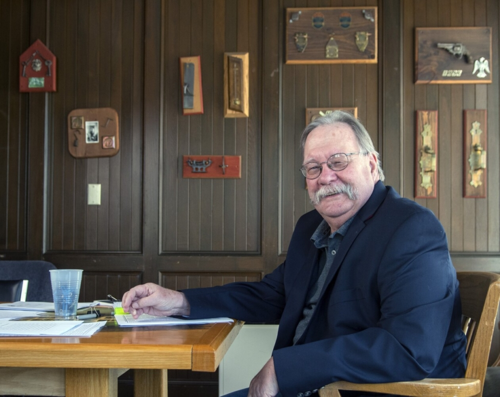 Kennebec County Administrator Bob Devlin, seen June 24 in Augusta, recently announced that he will be retiring at the end of the year.