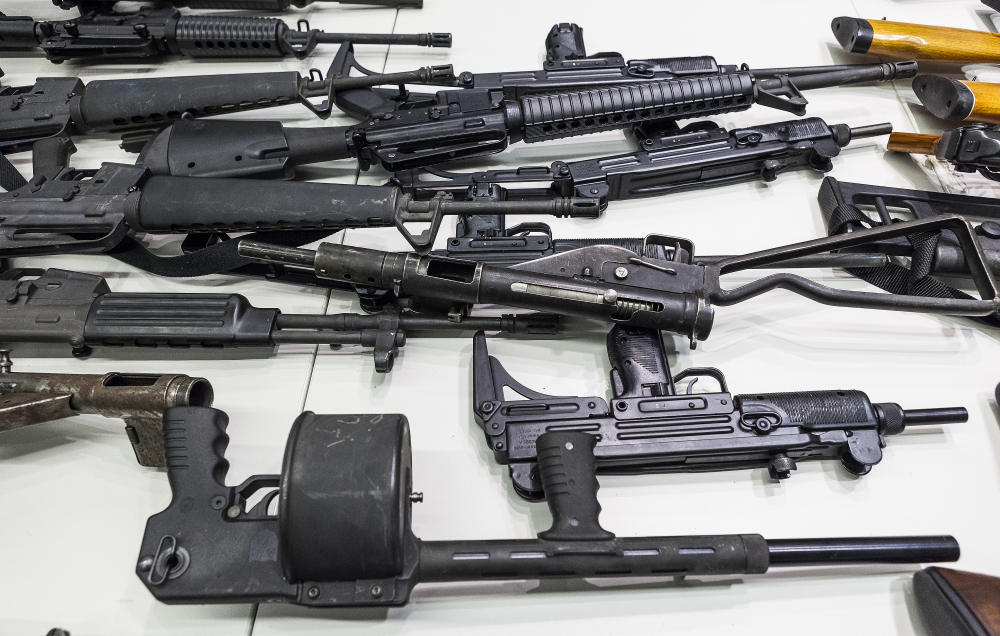U.S. District Judge Roger Benitez of San Diego ruled Friday that the state's definition of illegal military-style rifles unlawfully deprives law-abiding Californians of weapons commonly allowed in most other states.