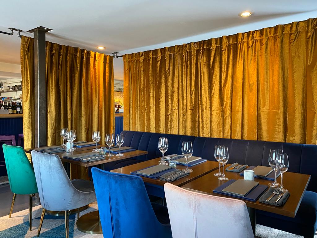 Among other changes from Meanwhile in Belfast owners Clementina Senatore and Alessandro Scelsi, they redecorated to make their more upscale intentions clear.