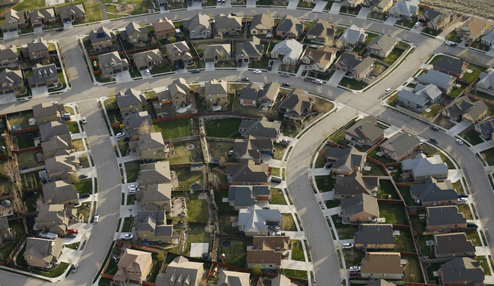 This April 13, 2019, file photo, shows homes in suburban Salt Lake City. Two studies released Wednesday, June 16, 2021, found that the nation's housing availability and affordability crisis is expected to worsen significantly following the pandemic.