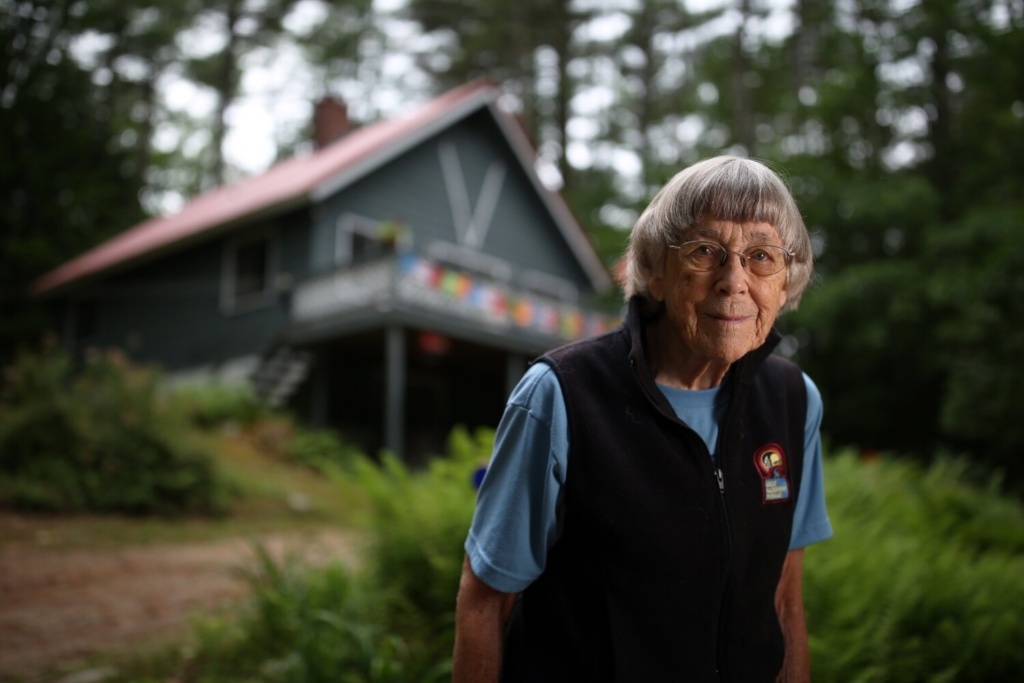 At 93, Maine hiker still has a to-do list of outdoor adventures