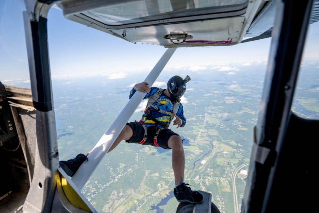 Skydiving company takes off in first months at Waterville airport