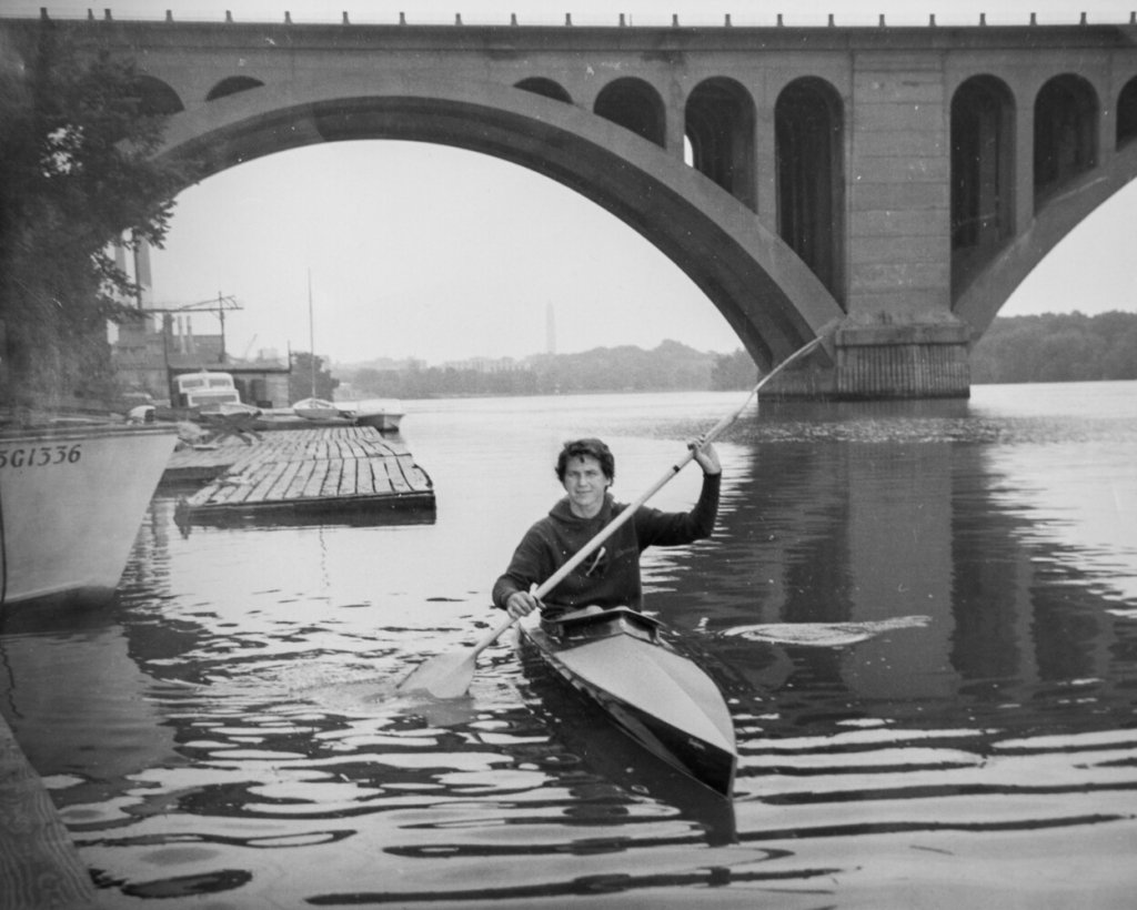 She didn't get in a boat until age 30. Five years later, the Lewiston native won a kayaking medal at the Olympics.