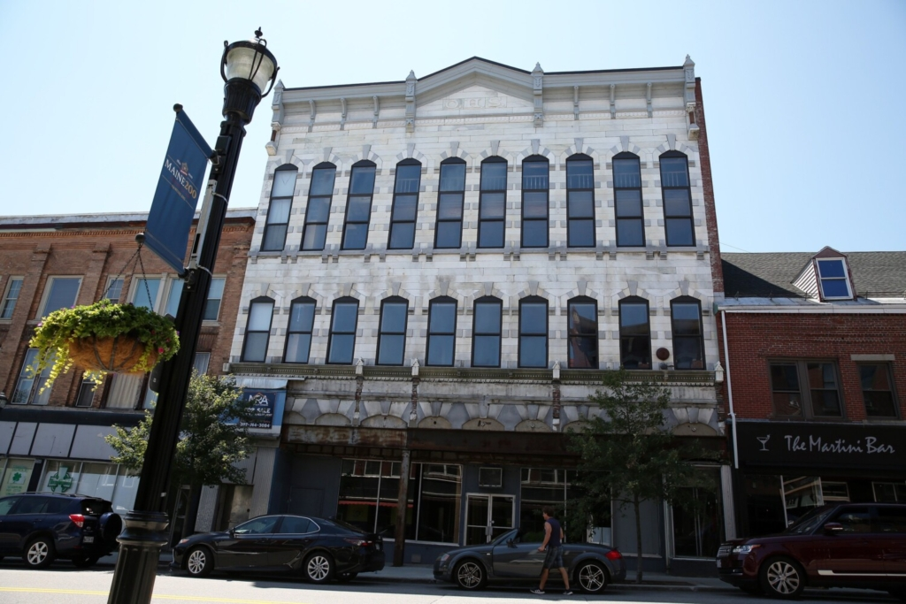 The Marble Block Building, on Main Street in Biddeford, was sold in July to Bryan Holden, chief development officer of Luke's Lobster. The nonprofit Engine hoped to transform the historic building into a hub for art and creativity for the community, but the project became increasingly difficult for the small organization.