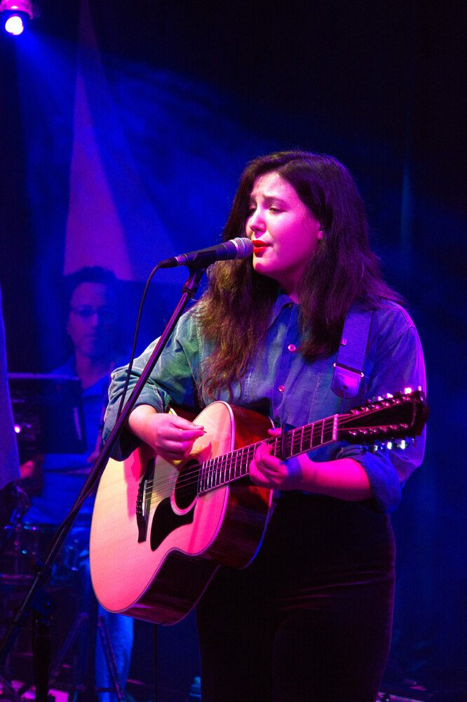 Lucy Dacus performs at Portland House of Music on Saturday.