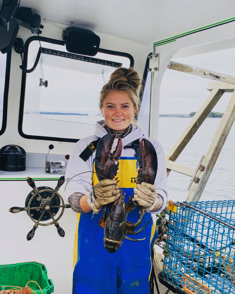 """Lanie Perry of Harrington is one of five young women featured in """"Downeast: Five Maine Girls and the Unseen Story of Rural America."""" Photo courtesy of Gigi Georges"""