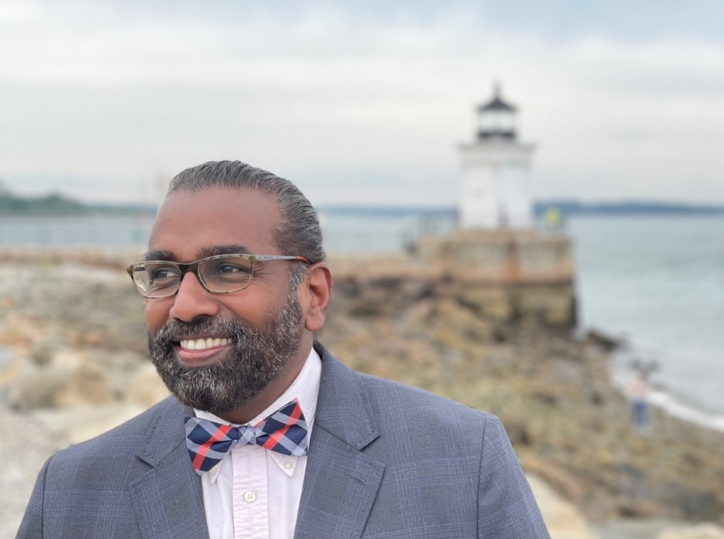 Noël Bonam of Portland is eager to enhance age-friendly living as the new state director for AARP Maine.