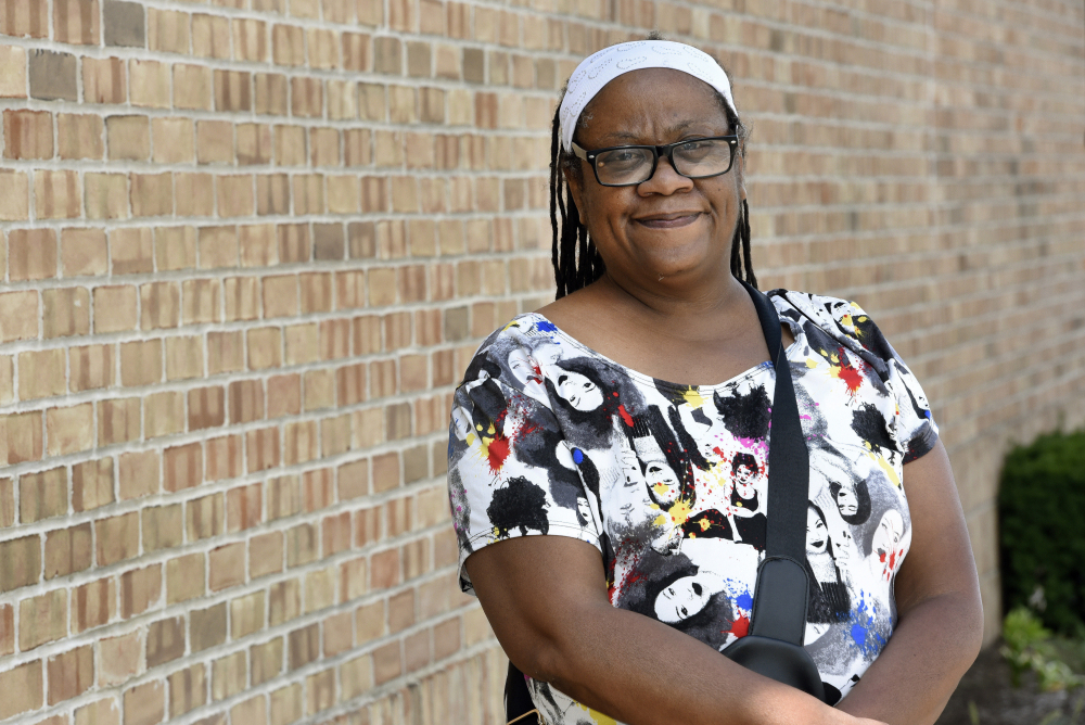 Regina Howard, a 53-year-old disabled veteran from Southfield, Mich., faced eviction last year from the $1,600-a-month house she shares with her husband and grandson. She turned to the state's eviction diversion program, where she was connected with free legal services. From there, she secured $24,550 in federal funds to pay for 15 months of rent.