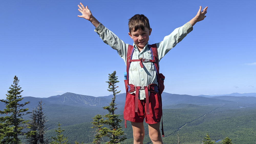 Young Hiker