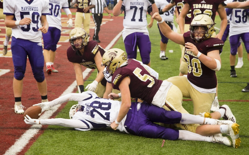 When they met two years ago, Thornton Academy edged Marshwood , 28-27, after stopping a two-point conversion attempt in the waning seconds of the game.