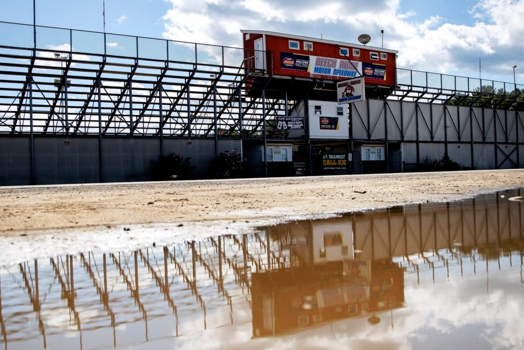 Beech Ridge Motor Speedway in Scarborough will cease racing later this month and the property will be sold to developers, track owner Andy Cusack announced to fans at the track on Saturday night.