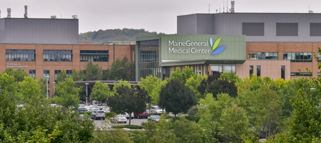 AUGUSTA, ME - SEPTEMBER 15: This Wednesday September 15, 2021 file photo shows MaineGeneral's Alfond Center for Health in north Augusta. (Staff photo by Joe Phelan/Staff Photographer)