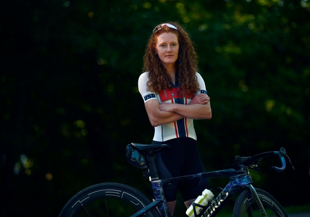 Falmouth native Clara Brown competed in the recent Tokyo Paralympics in cycling. She plans to compete in gravel races around New England this fall before returning to the para-circuit next spring.