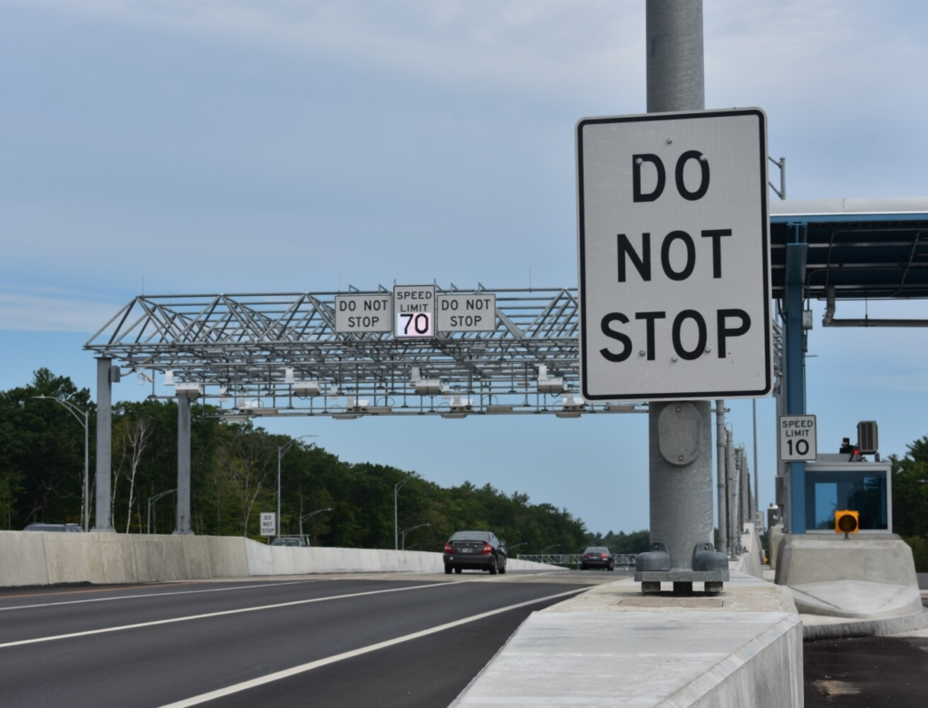 The Maine Turnpike's new open-road toll lanes in York are scheduled to open early Wednesday. Drivers with tolling transponders will no longer have to slow down to pay their tolls.