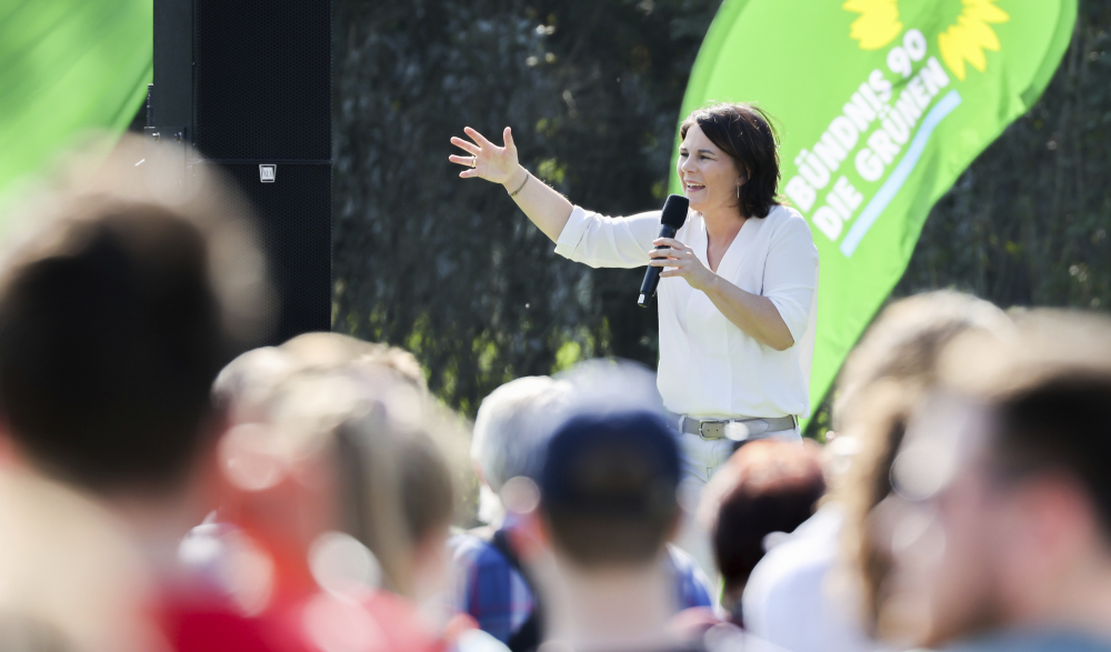 Germany Election Green Challenge