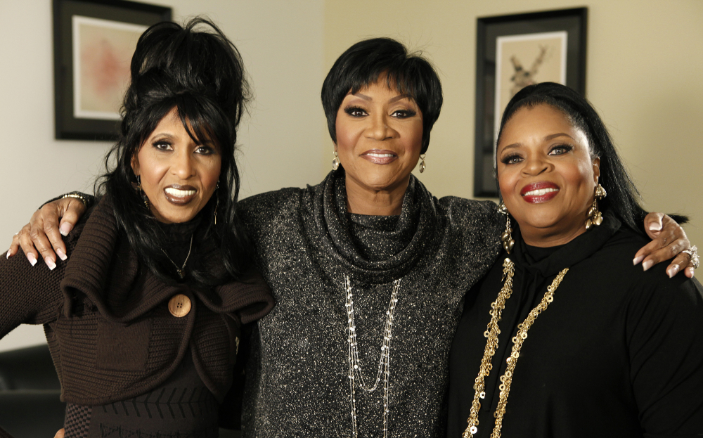 From left, Nona Hendryx, Patti LaBelle, and Sarah Dash, of the group Labelle, in 2009.