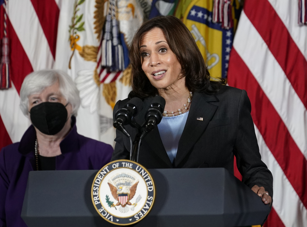 Harris' 'View' appearance delayed as hosts positive for COVID-19 - pressherald.com