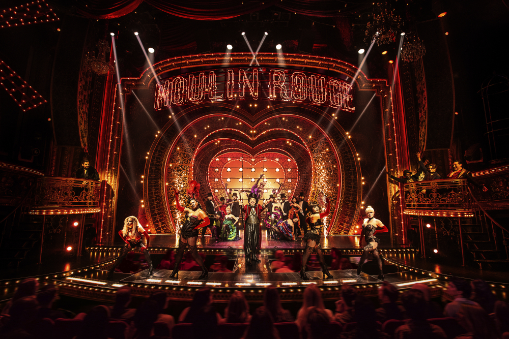 """The cast in """"Moulin Rouge! The Musical."""""""