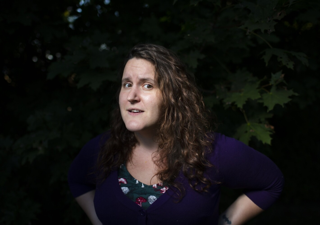 """Nancy Boucher of South Portland says her feelings about Facebook are """"complicated."""" It makes her sad that it does harm when she thinks it could do so much good."""
