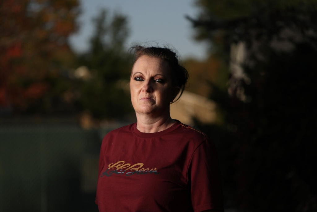"""Elaine Ballard of Yarmouth says her son, Dakota Ballard, struggles to get necessities like toothpaste and deodorant inside the Cumberland County Jail. """"If you can't even get the basics, it makes me worry about other things,"""" she said. Dakota Ballard has been locked up since August on driving and domestic abuse-related charges."""